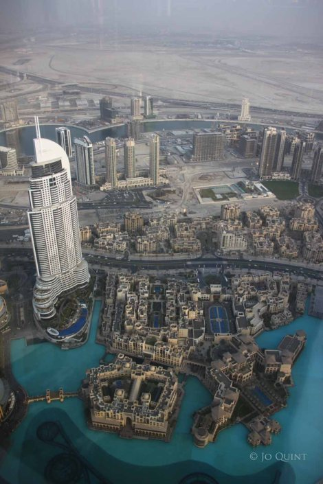 Dubai from the Burj Khalifa - the tallest building in the world